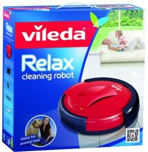 Vileda Relax: il robot che, mentre ti rilassi, pulisce al posto tuo!