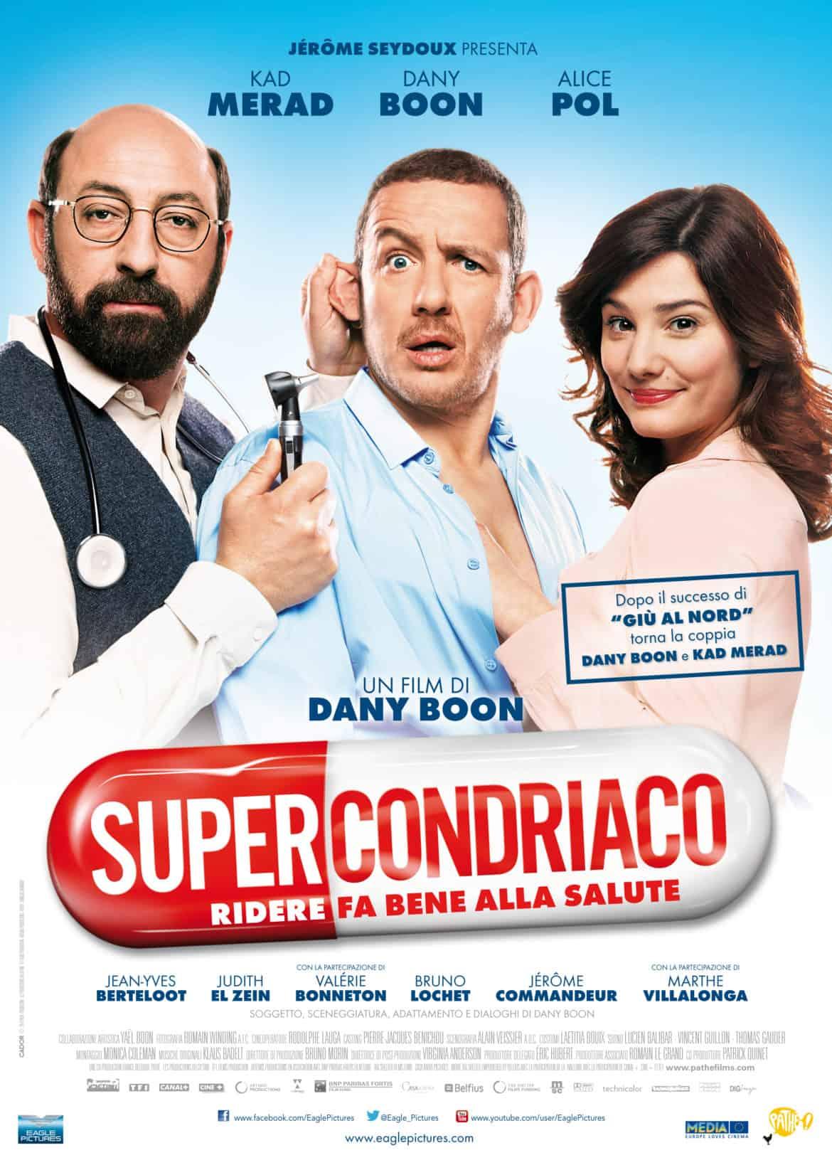 """""""Supercondriaco – Ridere fa bene alla salute"""" dal 13 marzo al cinema"""