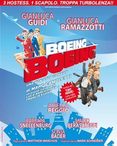 Al Teatro Manzoni di Milano la divertente commedia Boeing Boeing