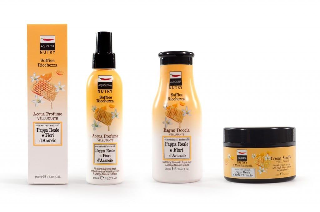 Bagno Doccia Crema Aquolina : Aquolina nutry la linea di bellezza a base di prodotti naturali