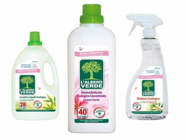 L'albero verde, prodotti completamente ecologici per la casa