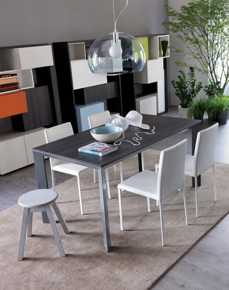 Doimo cityline presenta l abbinamento tavolo secret e for Tavolo e sedia bambini