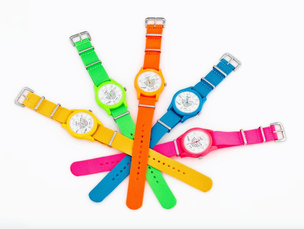 """Amen propone l' orologio """" custode"""", ricco di colore e spiritualità"""