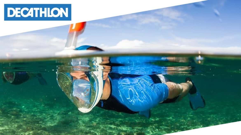 Con la maschera EasyBreath di Tribord fare snorkeling non sarà più la stessa cosa!