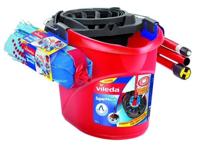 Nuovo SuperMocio con strizzatore Torsion Power di Vileda, meno fatica per pulire i pavimenti di casa!