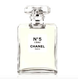 N°5 L'EAU, l' inconfondibile nuova fragranza di Chanel al passo con i tempi