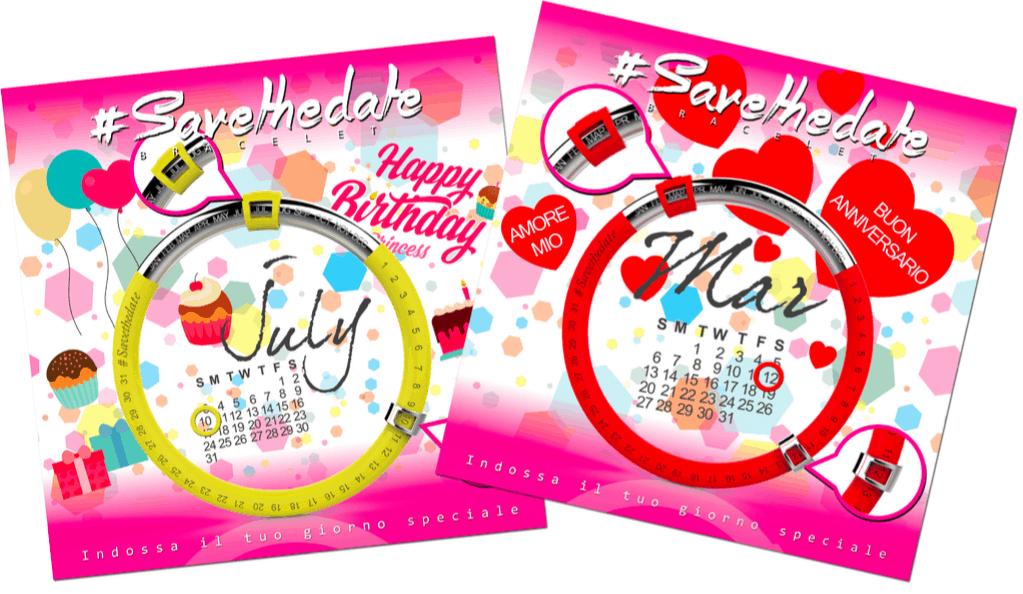 Save the date, l'originale bracciale da regalare a San Valentino