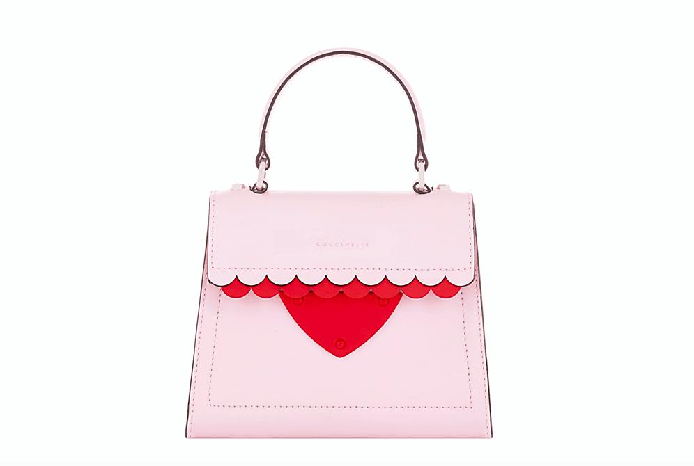 Firmata Coccinelle la minibag B14 per San Valentino