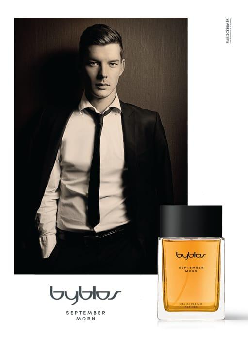 Byblos September Morn, la fragranza maschile dal doppio volto