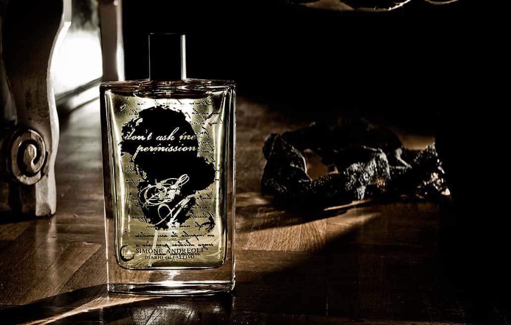 Simone Andreoli lancia la nuova sensuale fragranza DON'T ASK ME PERMISSION