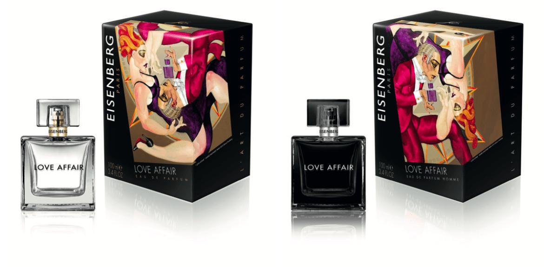 A San Valentino regalarsi a vicenda le due fragranze Love Affair by Eisenberg