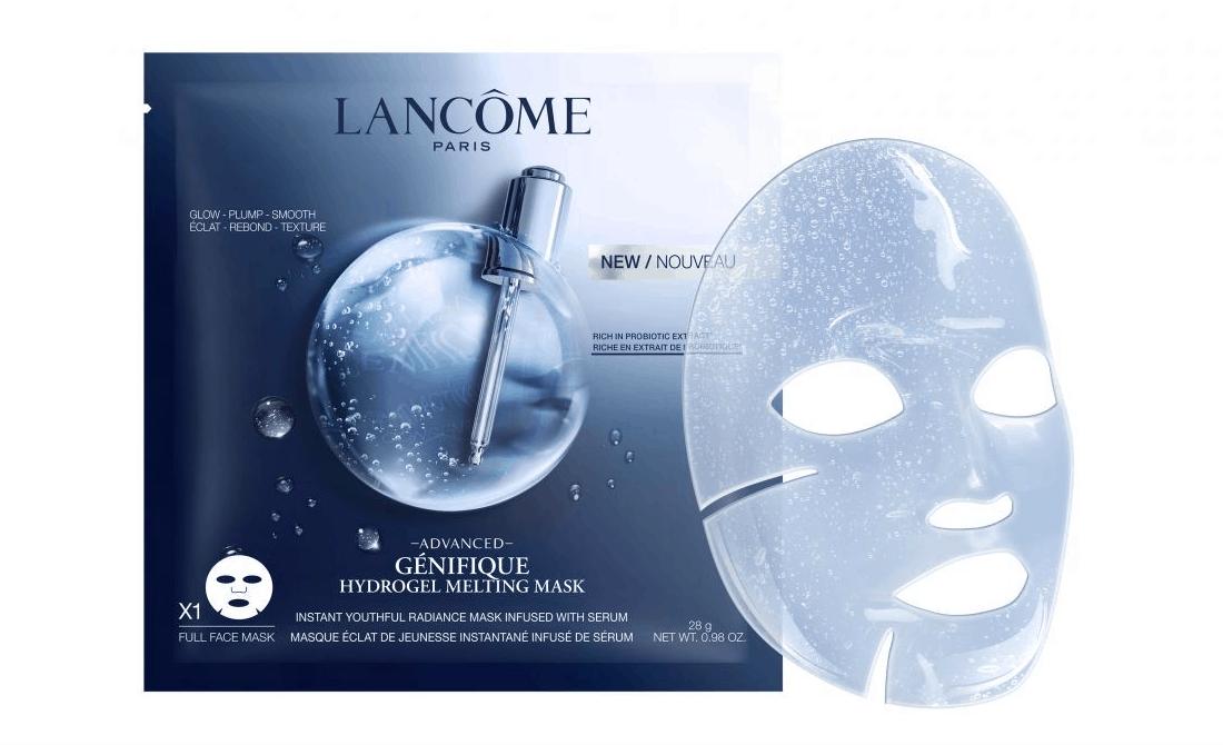 Advanced Génifique Hydrogel Melting Mask di Lancôme, per una pelle levigata e ringiovanita … in un attimo!