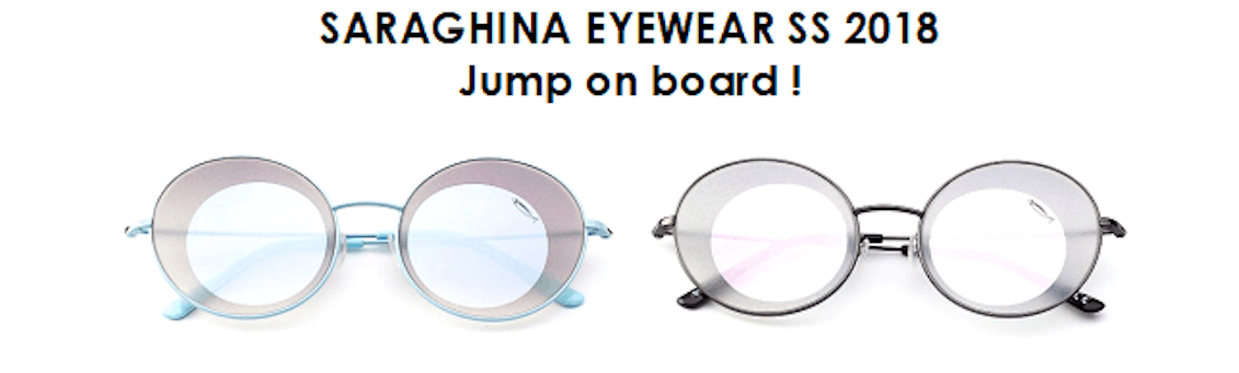 La nave di Saraghina Eyewear vi aspetta al MIDO 2018!
