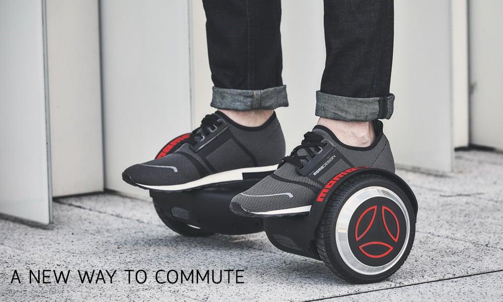 Da Momodesign one wheel e skateboard, per muoversi in città in barba al traffico e senza inquinare!