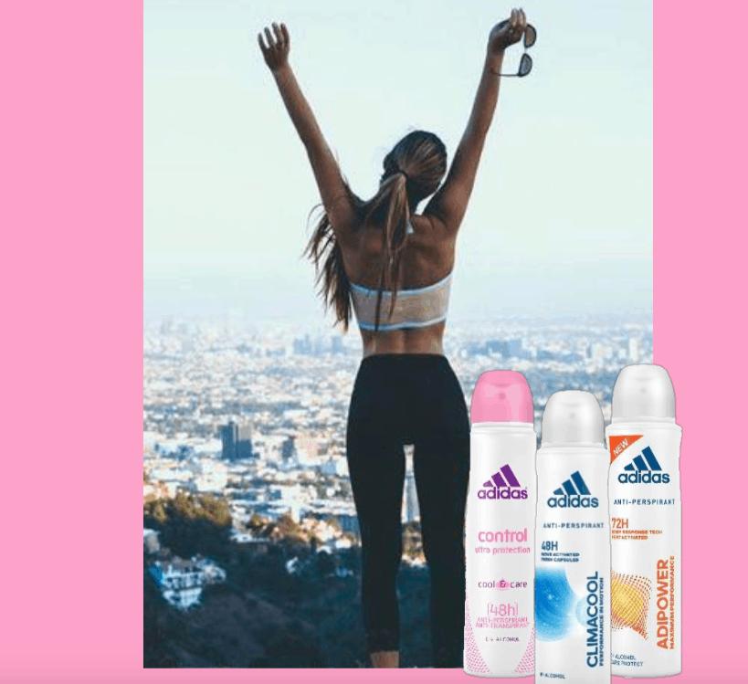 Delicati, freschi e a lunga tenuta i nuovi deodoranti femminili firmati Adidas!