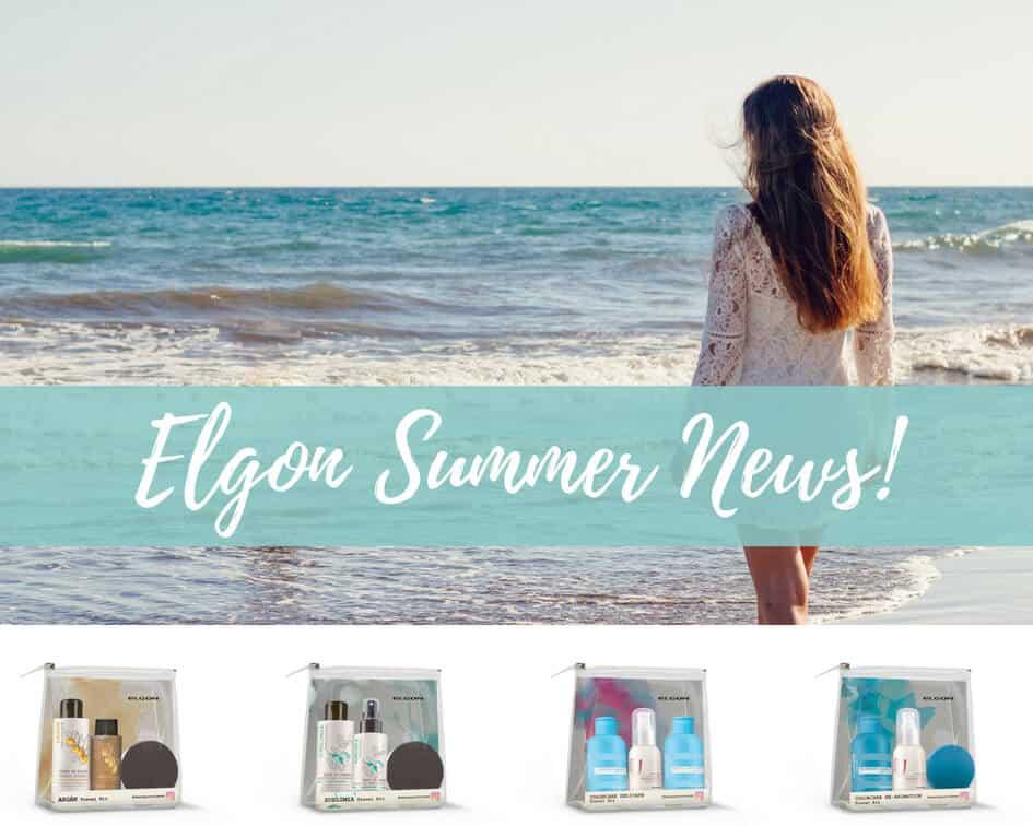 Elgon propone quattro nuovi travel kit perfetti per l'estate e per i tuoi capelli!