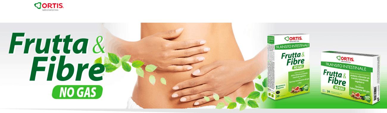 Benessere intestinale con Frutta & Fibre No Gas
