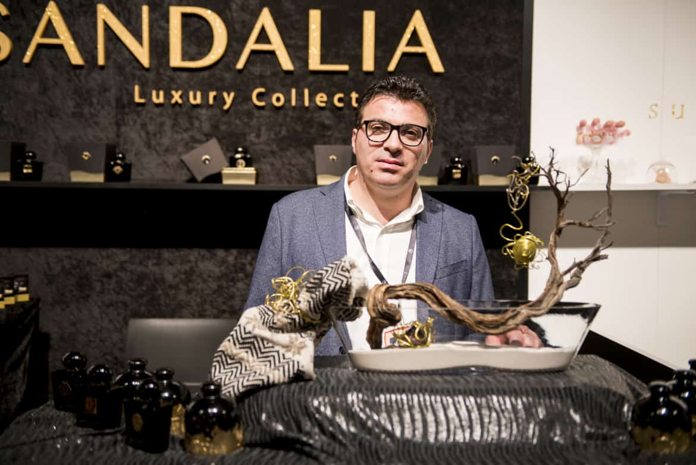 Officina Profumiera Sarda lancia la nuova linea luxury Sandalia