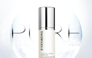 Prodotti Eisenberg Pure White per combattere i segni del tempo e le macchie della pelle