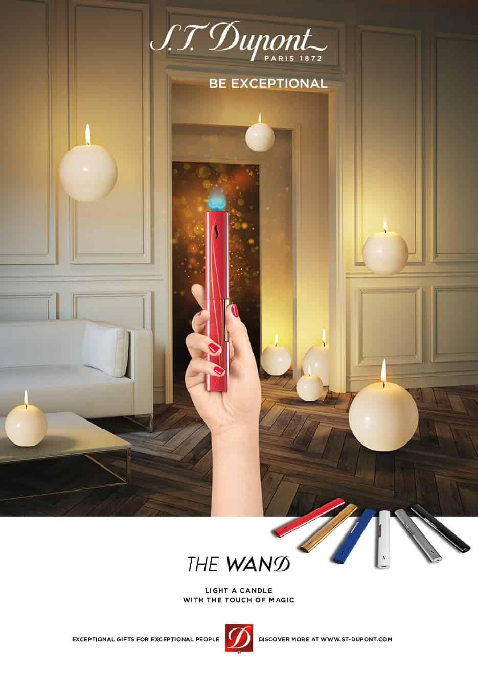 Home Lighter deluxe, l'esclusivo regalo di Natale firmato S.T.Dupont